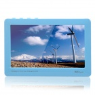 "KO S200 4,3 ""Touch Screen HD Video Player w / TF / Built-in-Spiele - Blau (4GB)"