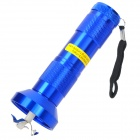Flashlight Shaped Electric Herb Tobacco Cigarette Grinder - Blue (3 x AAA)