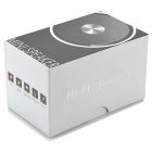 A102 3-in-1 Rechargeable Bluetooth v2.1 Multimedia Player Speaker w/ TF - Black