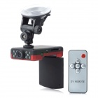 2.4'' TFT 5.0MP CMOS Wide Angle Digital Car DVR w/ 10-IR Night Vision / Remote Controller / G-sensor