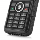 "S3 Ultra-Rugged GSM IP67 Cell Phone w/ 1.8"" LCD, Dual-Band and FM - Black (Built-in 2GB)"