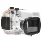Meikon-32 Waterproof PC Camera Housing Case for Canon PowerShot G1X - Transparent + Black + White