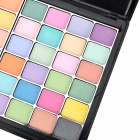 Cosmetic Makeup 2-Layer 48-Color Eye Shadow w/ Mirror / Accessories Kit - Multicolored