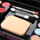 Cosmetic Makeup 3-Layer 38-Color Eye Shadow w/ Mirror / Accessories Kit - Multicolored