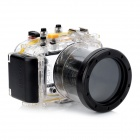 Meikon-36 Waterproof PC Camera Housing Case for Panasonic GF3 w/ 14~42mm Lens - Transparent + Black