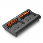 GP 8 x AA / 8 x AAA NiMH Batteries Charger - Black