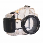 Meikon-19 Waterproof PC Camera Housing Case for Sony NEX-5N w/ 16mm Lens - Transparent + Blue