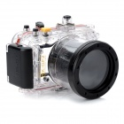 Meikon-34 Underwater Waterproof PC Camera Case Housing Bag for Panasonic GF2 - Transparent + Black