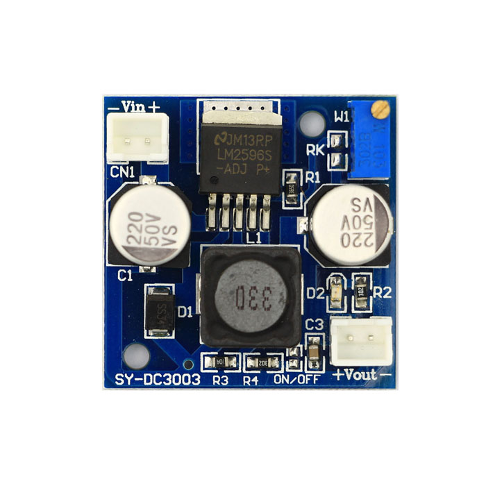 Mini DC-DC Adjustable Voltage Regulator Module - Blue free shipping avr vr6 avc63 12b1 suit for diesel generator automatic voltage regulator