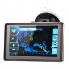 "5.0"" Touch Screen LCD WinCE 6.0 GPS Navigator w/ FM / TF / 4GB Flash Memory - Europe Map"