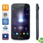 "ZOPO ZP900 Android 4.0 WCDMA Bar Phone w/ 5.3"" Capacitive Screen, GPS, Wi-Fi and Dual-SIM - Black"