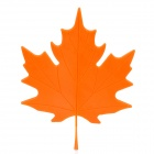 Maple Leaf Style Door Stopper Guard - Orange