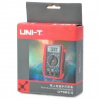 "UNI-T UT30B 2.0"" LCD Multipurpose Digital Multimeter - Red + Black (1 x 9V Battery)"