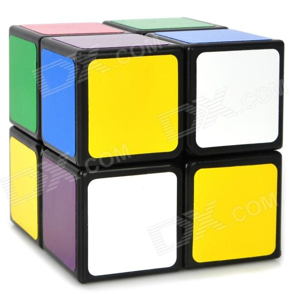 LanLan 2x2x2 5.0mm Brain Teaser Magic IQ Cube - Black dayan mf8 4x4x4 brain teaser magic iq cube