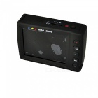 "Rechargeable Motion Activated Pinhole Spy Camera with 2"" LCD MiniSD DVR (100~240V AC)"