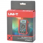 "UNI-T UT30C 2.0"" LCD Multipurpose Digital Multimeter - Red + Grey (1 x 9V Battery)"