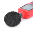 "Portable 2.5 ""LCD Digital Sound Level Meter - Rouge + Gris (4 x AA)"