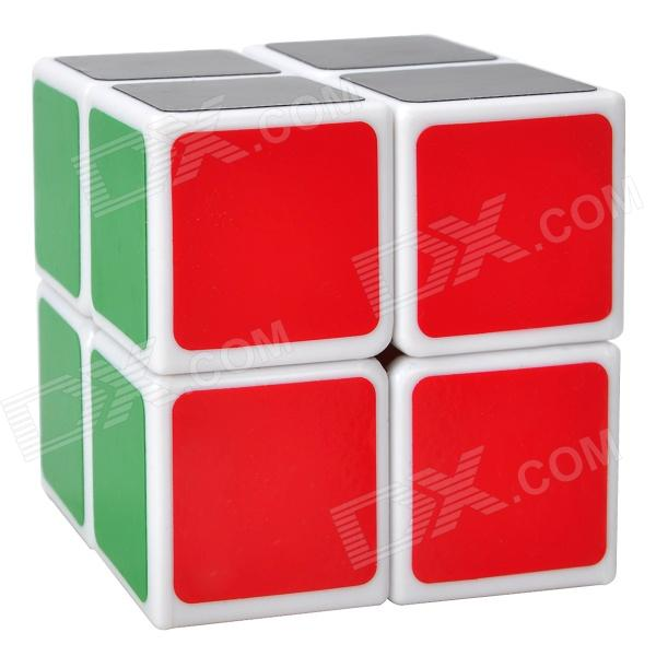LanLan 2x2x2 5.0mm Brain Teaser Magic IQ Cube - White dayan mf8 4x4x4 brain teaser magic iq cube