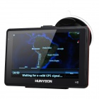 "HUNYDON HY-113 5"" Resistive Screen LCD Win CE 6.0 GPS Navigator with Brazil Map"