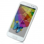 "ZOPO ZP900 Android 4.0 WCDMA Bar Phone w/ 5.3"" Capacitive Screen, GPS, Wi-Fi and Dual-SIM - White"