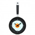Creative Fried Eggs Pan Shaped Wall Clock