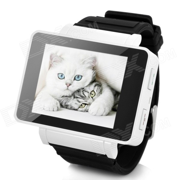 GSM 1.8 Resistive Touch Screen T9 Proprietary Watch Phone w/ Quad-Band / Bluetooth - Black + White migrating proprietary software to foss