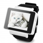 "GSM 1.8"" Resistive Touch Screen T9 Proprietary Watch Phone w/ Quad-Band / Bluetooth - Black + White"