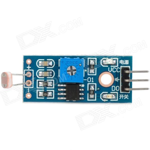 1-Way Photo Resistor Sensor Module for Arduino (Works with Official Arduino Boards) photo interrupter sensor module for arduino works with official arduino boards