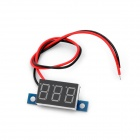 3.3V~30V Electric Motorized Car Voltage Display Board - Black
