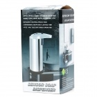 Touch-Free Stainless Steel Soap Sanitizer Dispenser - Silver (4 x AA / 300ml)