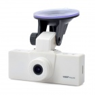 "1.5"" TFT LCD 5.0MP CMOS HD 1080P Wide Angle Digital Car DVR Camcorder - White"