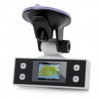 "1.5"" TFT LCD 5.0MP CMOS HD 1080P gran angular Cámara Digital DVR coche - Blanco"