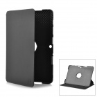 Protective 360 Degree Rotating Swivel PU Leather Case for Samsung Galaxy Tab 2 10.1 / P5100 - Black