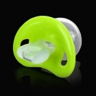 Silicone Soother / Pacifier - Green + Blue