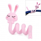 Lovely Rabbit Style Cable Winder / Organizer - Pink