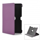 Protective PU Leather Case for Samsung Galaxy Tab P5100 - Purple