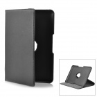 Protective PU Leather Case for Samsung Galaxy Tab P5100 - Black