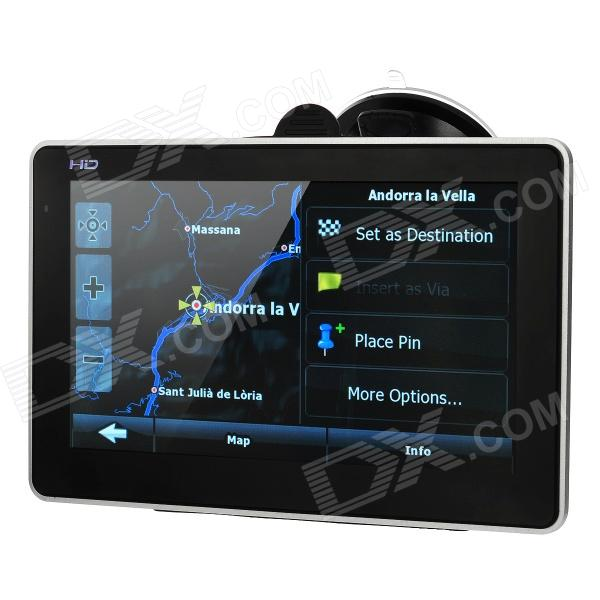 XM-05 7.0 Resistive Screen Win CE 6.0 GPS Navigator w/ Europe Map / TF / Built-in 4GB Flash Memory win max