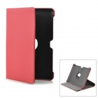 Protective PU Leather Case for Samsung Galaxy Tab P5100 - Red