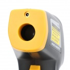 "Calibeur IR-102 1.1"" LCD Digital Infrared IR Thermometer - Black + Yellow (1 x 9V 6F22 Battery)"