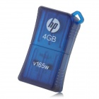 HP V165W USB 2.0 Flash Drive - Blue (4GB)