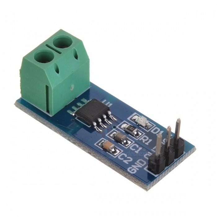 ACS712 30A Range Current Sensor Module for Arduino (Works with Official Arduino Boards) itead acs712 current sensor module dc ┬▒ 5a ac current detection module works w official arduino