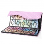 Serseul Rose Pattern Portable 100-Color Waterproof Cosmetic Makeup Eye Shadow Palette