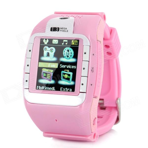 N388 GSM 1.3 Resistive Touch Screen T9 Proprietary Watch Phone w/ Bluetooth / Camera - Pink migrating proprietary software to foss
