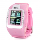 "N388 GSM 1.3"" Resistive Touch Screen T9 Proprietary Watch Phone w/ Bluetooth / Camera - Pink"