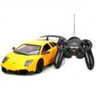 1:12 Lamborghini Style Rechargeable 2-Channel R/C Racing Car Toy - Yellow + Black (5 x AA)