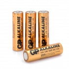GP Replacement 1.5V Alkaline AA Battery - Golden (4 PCS)