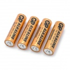 GP 1.5V alkaliskt AA batteri - Golden (4 st)