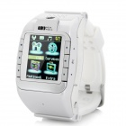 "N388 GSM 1.3"" Resistive Touch Screen T9 Proprietary Watch Phone w/ Bluetooth / Camera - White"