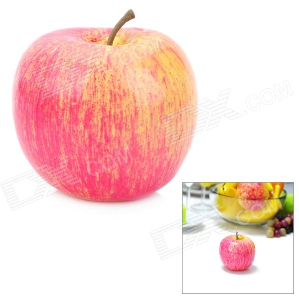 Artificial red apple simulation fruit for table decoration for Apple fruit decoration